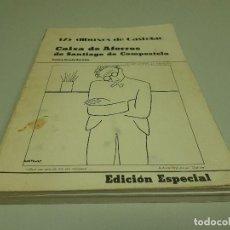 Libros de segunda mano: 1018- 175 DIBUXOS DE CASTELAO E ESPECIAL 1976 CAIXA AFORROS SANT DE COMPOSTELA. Lote 118470635