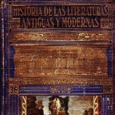 Libros de segunda mano: HISTORIA DE LAS LITERATURAS ANTIGUAS Y MODERNAS. D. PERES, RAMON. A-ESTANT-135. Lote 118471215
