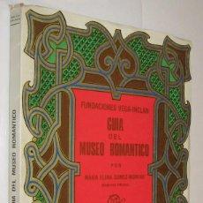 Libros de segunda mano: GUIA DEL MUSEO ROMANTICO - ELENA GOMEZ MORENO - ILUSTRADO *. Lote 118478287