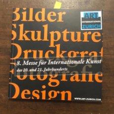 Libros de segunda mano: ART INTERNATIONAL ZURICH 2006(20€). Lote 118483243