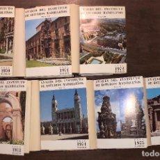 Libros de segunda mano: ANÁLES DEL INSTITUTO DE ESTUDIOS MADRILEÑOS-7TOMOS(221€). Lote 118485851