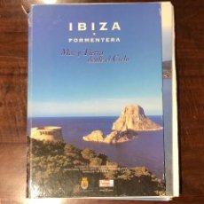 Libros de segunda mano: IBIZA Y FORMENTERA. MAR Y TIERRA DESDE EL CIELO(18€). Lote 118492871
