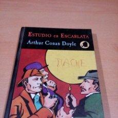 Libros de segunda mano: ESTUDIO DE ESCARLATA - ARTHUR CONAN DOYLE - SHERLOCK HOLMES - EL CANON 1 - VALDEMAR. Lote 118506127