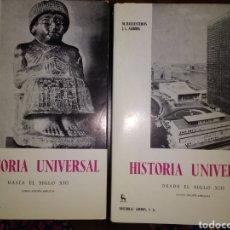 Libros de segunda mano: HISTORIA UNIVERSAL. 2 TOMOS. HASTA EL SIGLO XIII Y DESDE EL SIGLO XIII. QUINTA EDICIÓN AMPLIADA. ED. Lote 118527775