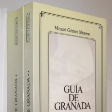 Libros de segunda mano: GUIA DE GRANADA - MANUEL GOMEZ MORENO - EDICION FACSIMIL - 2 TOMOS - ILUSTRADO *. Lote 118568763