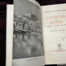 Libros de segunda mano: CASTILLOS EN ESPAÑA ED. AGUILAR 1962. Lote 118584303