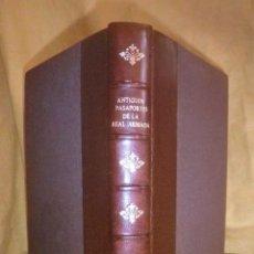 Libros de segunda mano: ANTIGUOS PASAPORTES DE LA REAL ARMADA - BIBLIOFILOS ESPAÑOLES - LUJOSA EDICION EN PIEL.. Lote 118622611