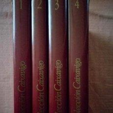Libros de segunda mano: COLECCION CAIXANOVA.4 TOMOS.. Lote 118640143