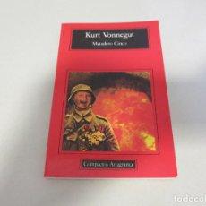 Libros de segunda mano: KURT VONNEGUT MATADERO CINCO CIENCIA FICCION COMPACTOS ANAGRAMA. Lote 194775366