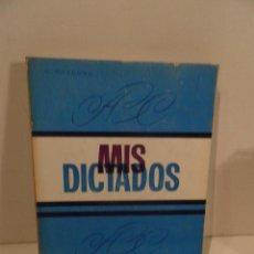 Libros de segunda mano: MIS DICTADOS. LIBRO DEL ALUMNO. 5º CURSO - PASCUAL MARTÍNEZ, ANDRÉS. Lote 118730883
