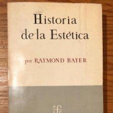 Libros de segunda mano: HISTORIA DE LA ESTÉTICA(23€). Lote 118733851