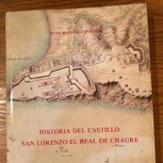Libros de segunda mano: HISTORIA DEL CASTILLO SAN LORENZO EL REAL DE CHAGRE(22€). Lote 118734091