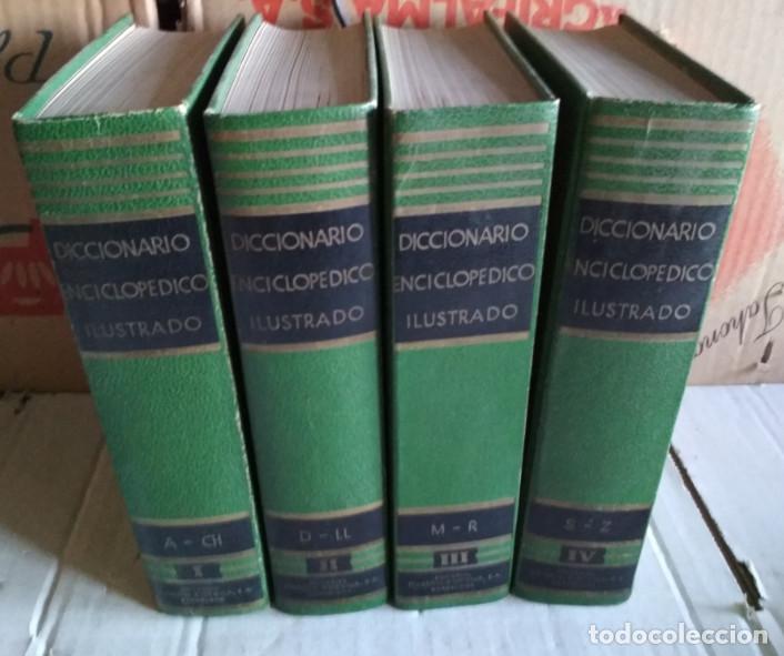 DICCIONARIO ENCICLOPEDICO ILUSTRADO, SOPENA 1965, 4 TOMOS, LIBROS (Libros de Segunda Mano - Ciencias, Manuales y Oficios - Otros)