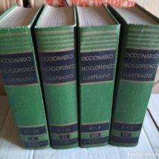 Libros de segunda mano: DICCIONARIO ENCICLOPEDICO ILUSTRADO, SOPENA 1965, 4 TOMOS, LIBROS. Lote 118755219