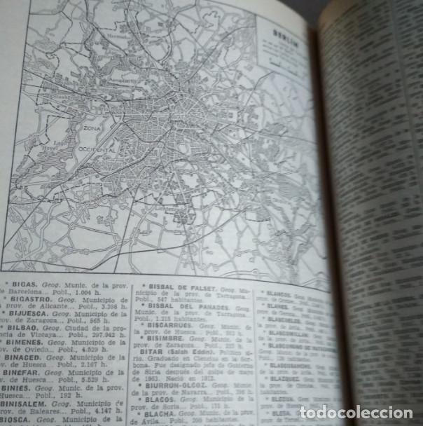 Libros de segunda mano: DICCIONARIO ENCICLOPEDICO ILUSTRADO, SOPENA 1965, 4 TOMOS, LIBROS - Foto 6 - 118755219