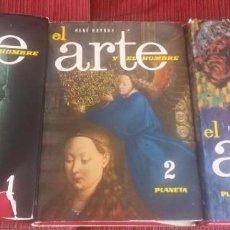 Libros de segunda mano - El arte y el hombre, HUYGHE, René - 118784375