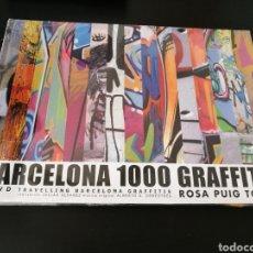 Libros de segunda mano: BARCELONA 1000 GRAFFITIS (+DVD). ROSA PUIG TORRES 2005 .DESCATALOGADO . PRECINTADO,SIN ABRIR .T.DURA. Lote 118804495