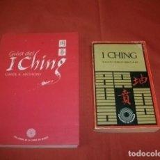 Libros de segunda mano: LOTE DE DOS LIBROS SOBRE I CHING - CAROL K ANTHONY Y MIRKO LAUER. Lote 118817659