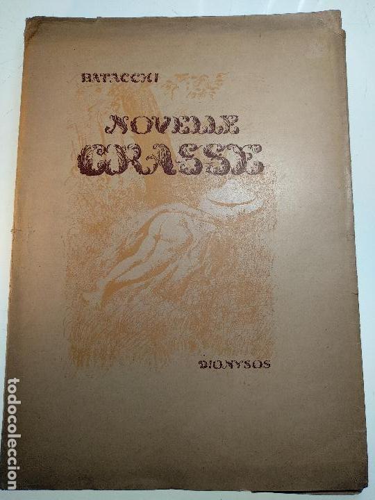 NOVELLE CRASSE - DIONYSOS - 12 ILUSTRACIONES - DE ADRIANO SCBALDI - 1948 - TORINO - EN ITALIANO - (Libros de Segunda Mano - Bellas artes, ocio y coleccionismo - Otros)
