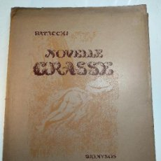 Libros de segunda mano: NOVELLE CRASSE - DIONYSOS - 12 ILUSTRACIONES - DE ADRIANO SCBALDI - 1948 - TORINO - EN ITALIANO -. Lote 118990487