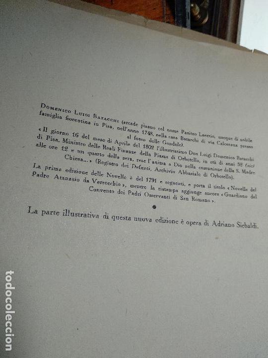 Libros de segunda mano: NOVELLE CRASSE - DIONYSOS - 12 ILUSTRACIONES - DE ADRIANO SCBALDI - 1948 - TORINO - EN ITALIANO - - Foto 4 - 118990487