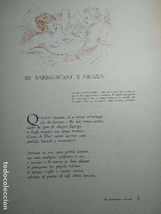 Libros de segunda mano: NOVELLE CRASSE - DIONYSOS - 12 ILUSTRACIONES - DE ADRIANO SCBALDI - 1948 - TORINO - EN ITALIANO - - Foto 6 - 118990487
