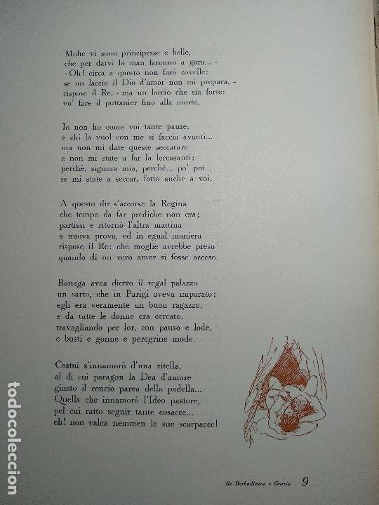 Libros de segunda mano: NOVELLE CRASSE - DIONYSOS - 12 ILUSTRACIONES - DE ADRIANO SCBALDI - 1948 - TORINO - EN ITALIANO - - Foto 7 - 118990487