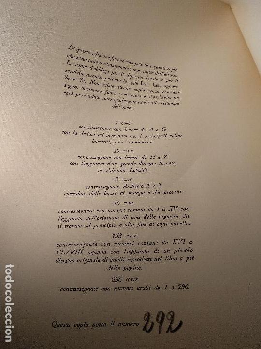 Libros de segunda mano: NOVELLE CRASSE - DIONYSOS - 12 ILUSTRACIONES - DE ADRIANO SCBALDI - 1948 - TORINO - EN ITALIANO - - Foto 13 - 118990487