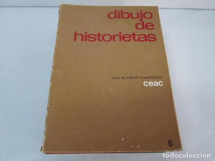 Libros de segunda mano: DIBUJO DE HISTORIETAS 3L. DIBUJO DE CARICATURAS 5 LIBROS Nº 6 REPETIDO. DIBUJO DE CHISTES 10 LIBROS. - Foto 17 - 119224415