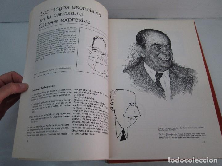 Libros de segunda mano: DIBUJO DE HISTORIETAS 3L. DIBUJO DE CARICATURAS 5 LIBROS Nº 6 REPETIDO. DIBUJO DE CHISTES 10 LIBROS. - Foto 24 - 119224415