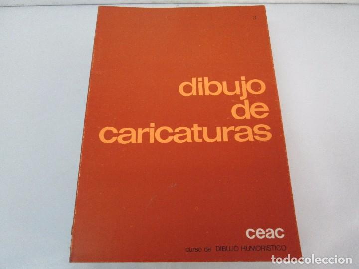 Libros de segunda mano: DIBUJO DE HISTORIETAS 3L. DIBUJO DE CARICATURAS 5 LIBROS Nº 6 REPETIDO. DIBUJO DE CHISTES 10 LIBROS. - Foto 28 - 119224415
