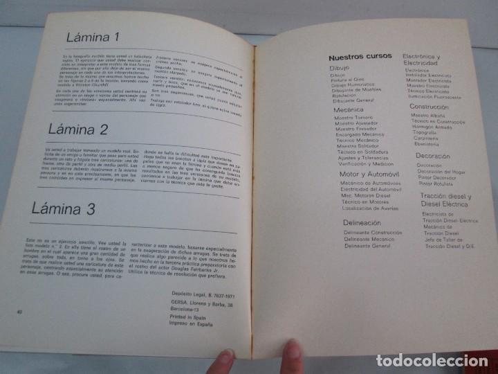 Libros de segunda mano: DIBUJO DE HISTORIETAS 3L. DIBUJO DE CARICATURAS 5 LIBROS Nº 6 REPETIDO. DIBUJO DE CHISTES 10 LIBROS. - Foto 35 - 119224415