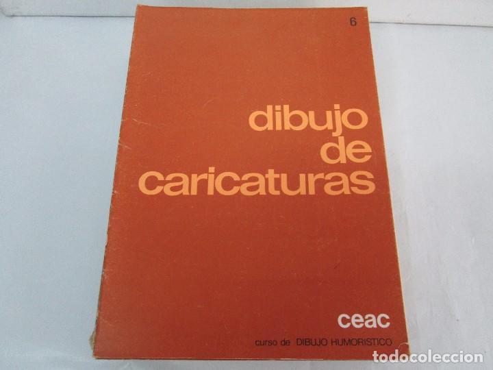 Libros de segunda mano: DIBUJO DE HISTORIETAS 3L. DIBUJO DE CARICATURAS 5 LIBROS Nº 6 REPETIDO. DIBUJO DE CHISTES 10 LIBROS. - Foto 37 - 119224415