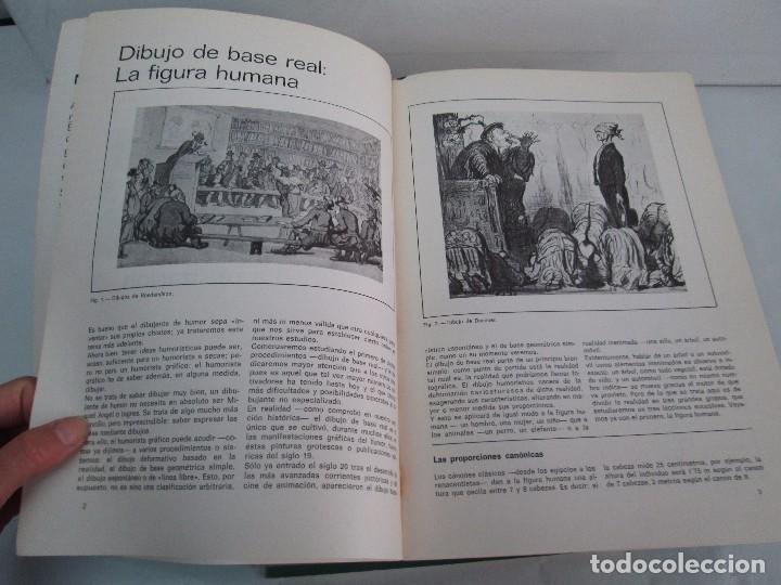 Libros de segunda mano: DIBUJO DE HISTORIETAS 3L. DIBUJO DE CARICATURAS 5 LIBROS Nº 6 REPETIDO. DIBUJO DE CHISTES 10 LIBROS. - Foto 47 - 119224415