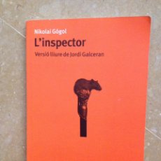 Libros de segunda mano: L'INSPECTOR (NIKOLAI GÓGOL) PROA. Lote 194524678