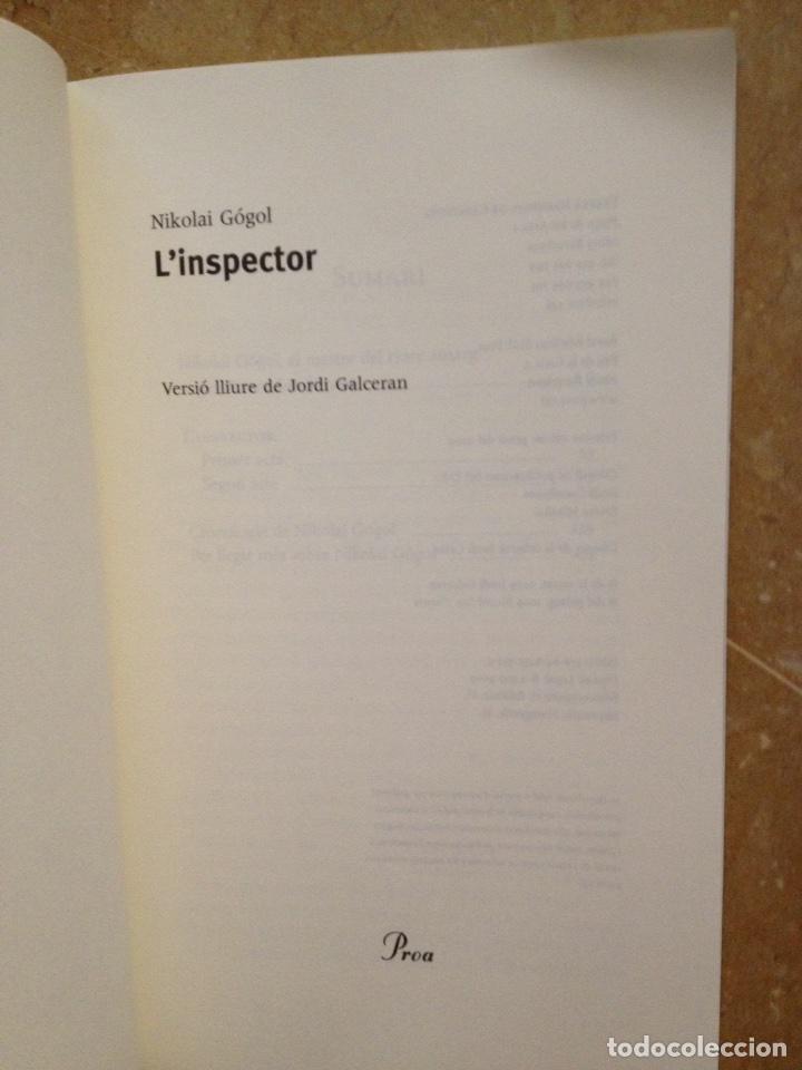 Libros de segunda mano: Linspector (Nikolai Gógol) Proa - Foto 2 - 194524678