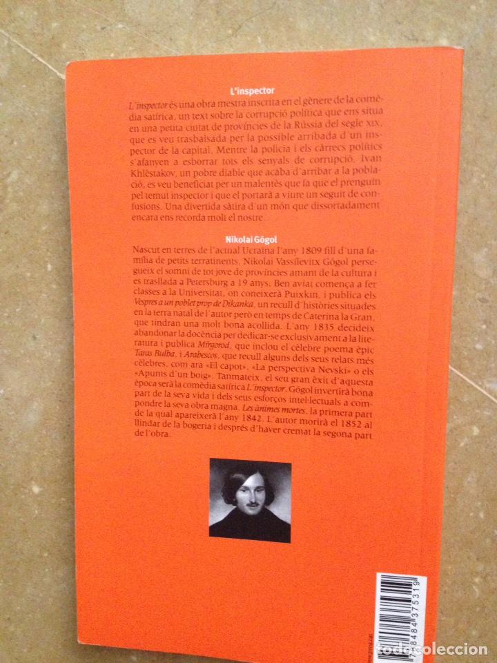 Libros de segunda mano: Linspector (Nikolai Gógol) Proa - Foto 4 - 194524678