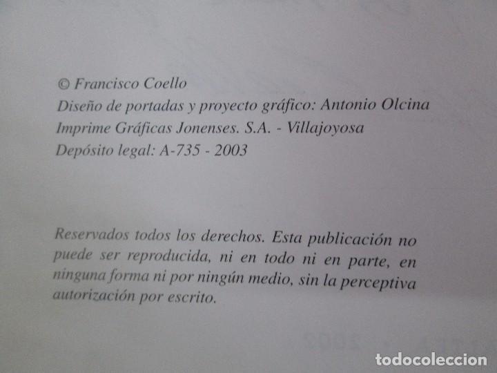 Libros de segunda mano: RELATOS CURIOSOS O ANECDOTAS ALTEANAS. FRANCISCO COELLO. DEDICADO POR EL AUTOR. 2003. - Foto 10 - 119297719