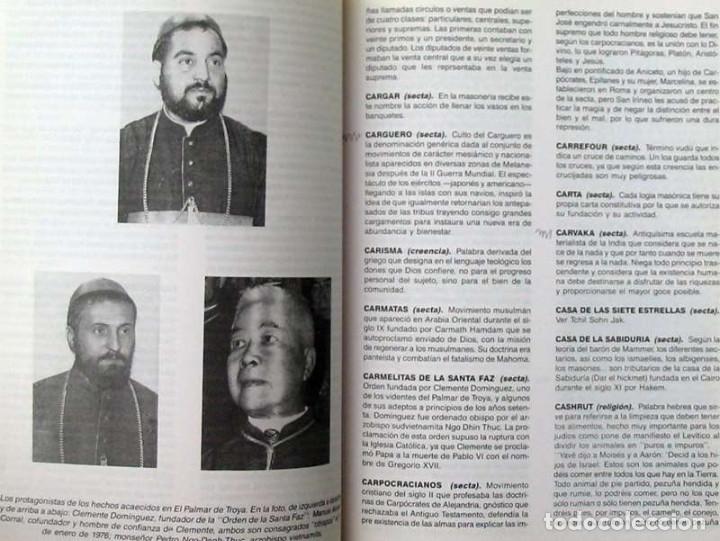 Libros de segunda mano: DICCIONARIO DE SECTAS, CREENCIAS Y RELIGIONES - FELIPE ALONSO FERNÁNDEZ-CHECA 1995 - VER INDICE - Foto 5 - 119332787