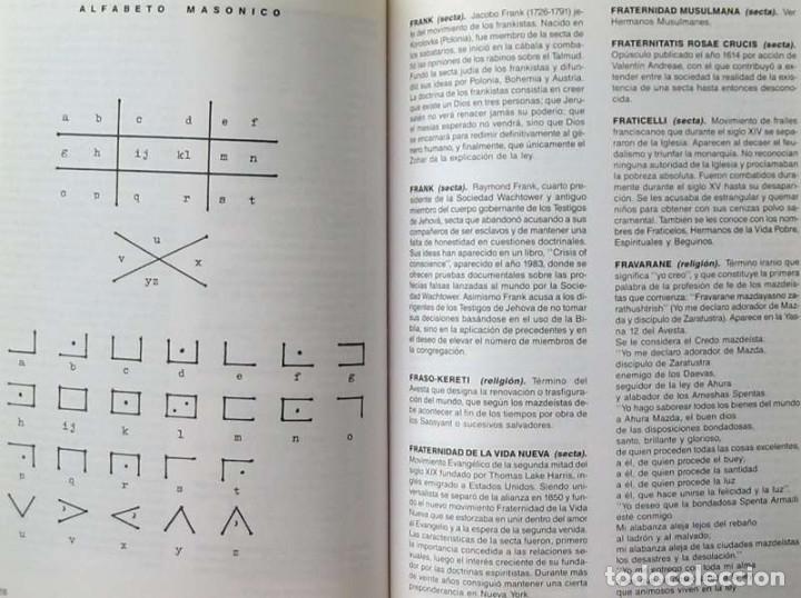 Libros de segunda mano: DICCIONARIO DE SECTAS, CREENCIAS Y RELIGIONES - FELIPE ALONSO FERNÁNDEZ-CHECA 1995 - VER INDICE - Foto 6 - 119332787