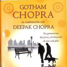 Libros de segunda mano: LECCIONES DE FELICIDAD - DEEPAK CHOPRA; GOTHAM CHOPRA. Lote 119390955
