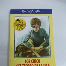 Libros de segunda mano: LOS CINCO Y EL TESORO DE LA ISLA, DE ENID BLYTON.. Lote 119488795