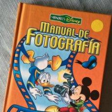 Libros de segunda mano: MANUALES DISNEY MANUAL DE FOTOGRAFÍA EVEREST 2004. Lote 119566459
