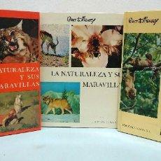 Libros de segunda mano: WALT DISNEY. LA NATURALEZA Y SUS MARAVILLAS (3 VOL.). EDICIONES GAISA, 1969-1970.. Lote 119607655