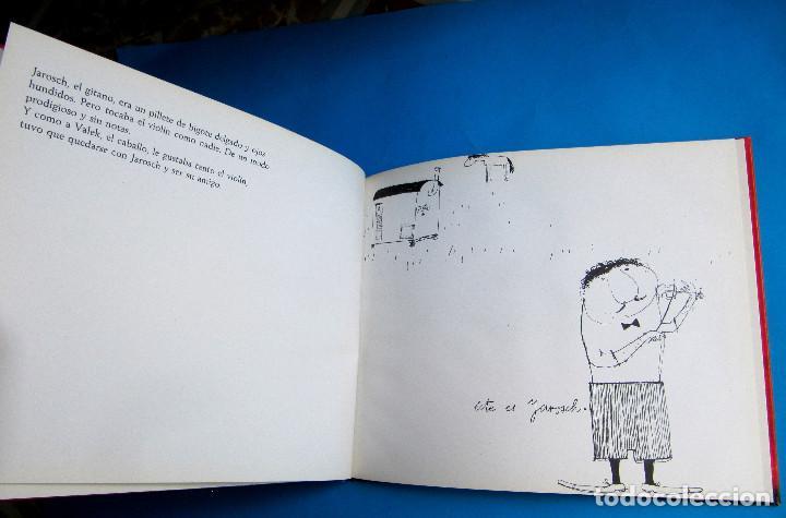 Libros de segunda mano: VALEK Y JAROSCH. POR JANOSCH. EDITORIAL LUMEN, 1963. 1ª EDICIÓN EN CASTELLANO. - Foto 3 - 119673359