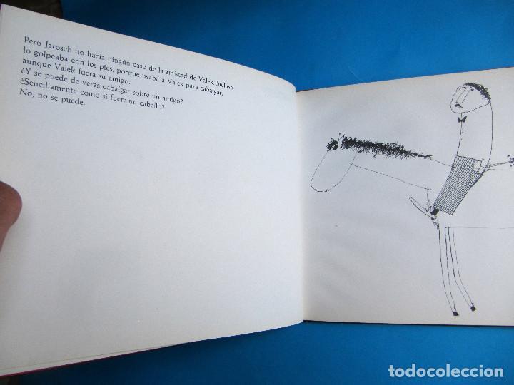 Libros de segunda mano: VALEK Y JAROSCH. POR JANOSCH. EDITORIAL LUMEN, 1963. 1ª EDICIÓN EN CASTELLANO. - Foto 4 - 119673359