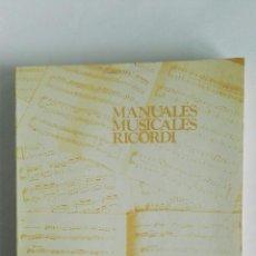 Libros de segunda mano: EL PIANO ALFREDO CASELLA. Lote 119963168