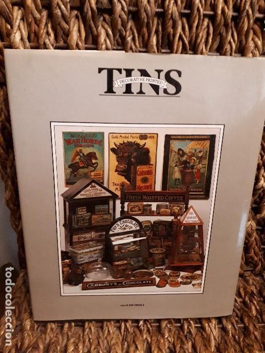 Libros de segunda mano: Libro Tins Decorative Printed. Coleccionismo de Cajas antiguas de hojalata decoradas. David Griffith - Foto 2 - 120064635