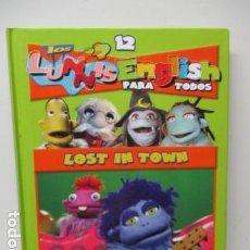 Libros de segunda mano: LIBRO-DVD: LOS LUNNIS: ENGLISH PARA TODOS, NUMERO 12. Lote 120101439