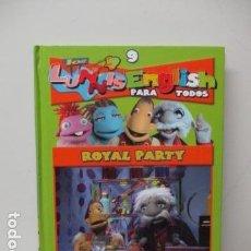 Libros de segunda mano: LIBRO-DVD: LOS LUNNIS: ENGLISH PARA TODOS, NUMERO 9. Lote 120101839